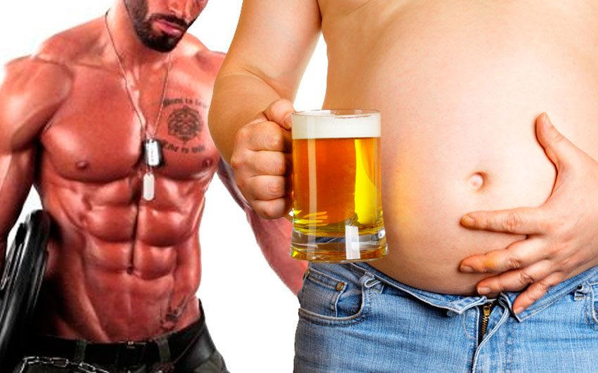 Beer and bodybuilding