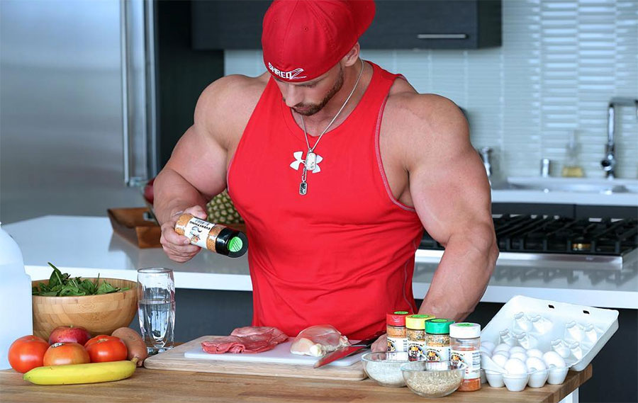 Nutrition for muscle mass gain
