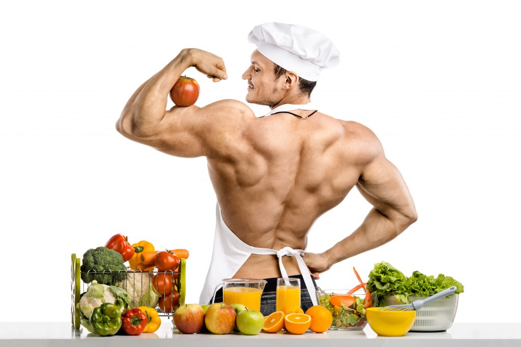 Nutrition in bodybuilding